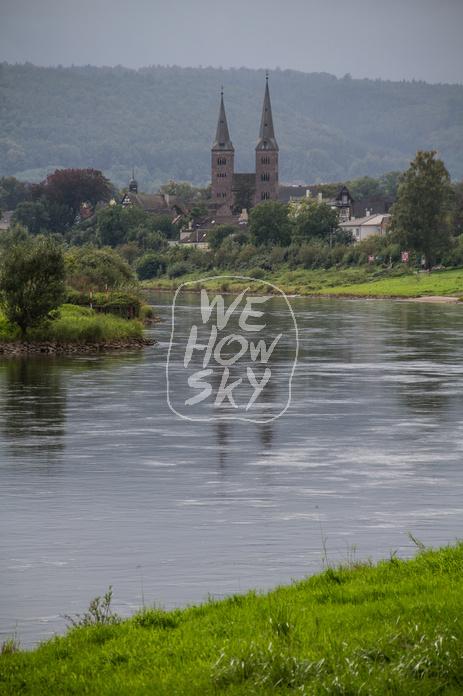 Weserbogen bei Corvey