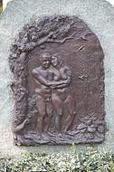 Grabstein Mann/Frau