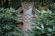 Großes altes Steinkreuz