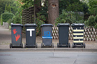 Mülltonnenparade