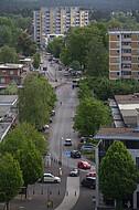 Blick vom Sennestadthochhaus