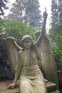 Große Engeldfigur