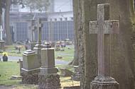 Alte Grabkreuze