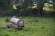 Tankwagen für Weidetiere