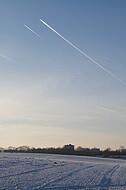 Winterhimmel über Schildesche