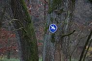 Kennzeichnung Reiterweg