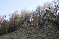Vereinzelter Felsen