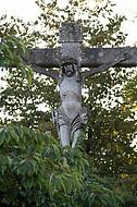 Große Jesusfigur
