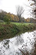 Spiegelnder Fluß