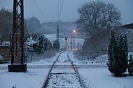 Erster Schnee in Alverdissen