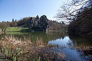 Blick über Teich