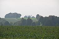 Biogasanlage am Horizont