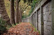 Friedhofsmauer Detmold