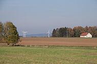 Windräder vor Teuto