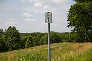 Hinweisschild Fahrradweg